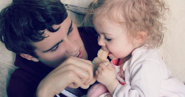 Alfie Deyes and Baby Glitter