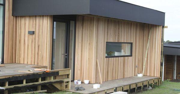 Cedertr s bekl dning huset i bakkeskoven pinterest tr for Case modulari mediterranee