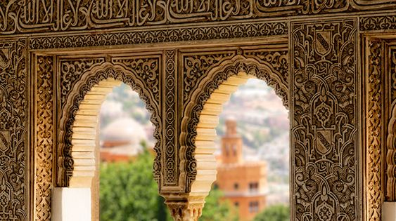 alhambra palace, granada, spain | islamic art + architecture