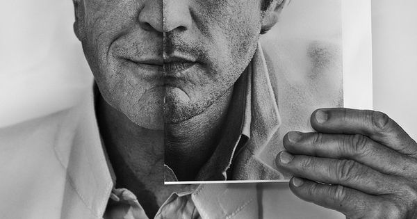 """Now and Then"" by Betina La Plante. British actor Terence Stamp holds"