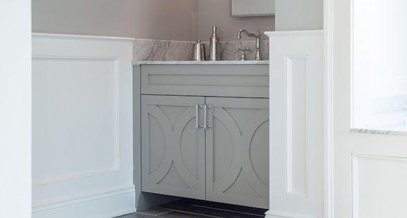 Cory Connor Design Bathrooms Benjamin Moore San Antonio Gray Wood Like Tiles Wood Tiles