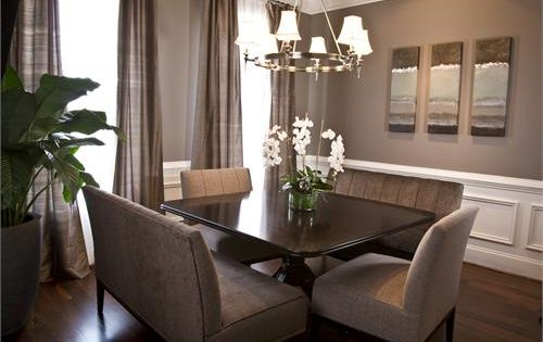 wandfarbe taupe  dining room ideas  Pinterest  Die ...