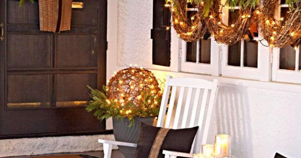589fa DIY Christmas Porch Ideas 26 40 Great DIY Decorating Suggestions For