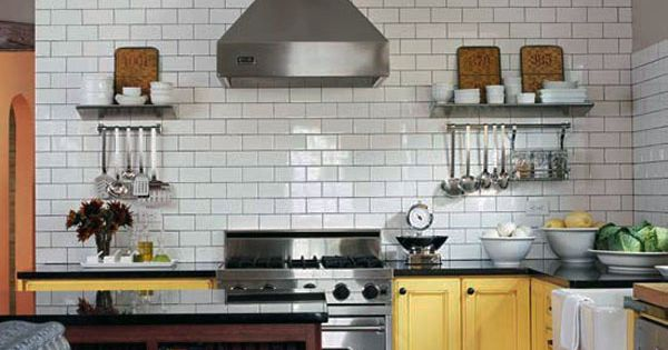 Examples Of Subway Tile Backsplash: 30 Successful Examples On How To Add Subway Tiles In Your