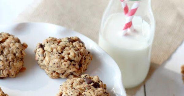 Chia Seed Peanut Butter Cookies! {gluten free recipe}