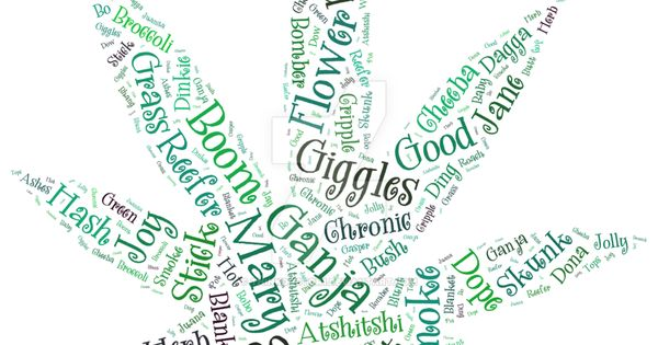 Cannabis / Marijuana Street Names and Nicknames http://marijuana ...