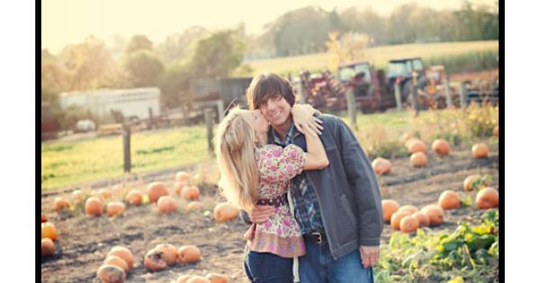 fall save the date pic idea..we have a favorite pumpkin patch, this