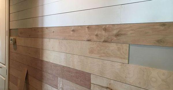 Diy Shiplap Wall Easy Cheap And Beautiful Part 1 Diy
