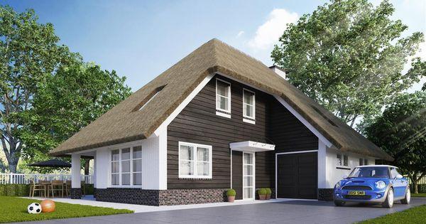Mooie kleur buitenkant huis nieuw huis ontwerp pinterest for Eigentijdse buitenkant