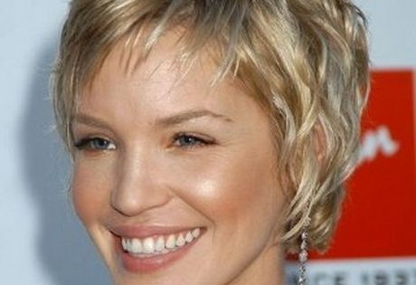 Hair Styles For Short Curly Hair Over 50: Short Thin Wavy Hairstyles Images