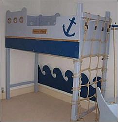 25 Amazing Boat Themed Bedroom Ideas Nautical Beds Furniture