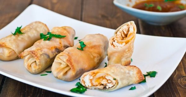 Thanksgiving Leftovers Turkey and Mushroom Rolls.