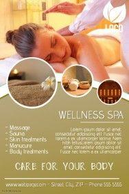 Sirle Kabanen Beauty Spa Spa Flyer Spa Advertising
