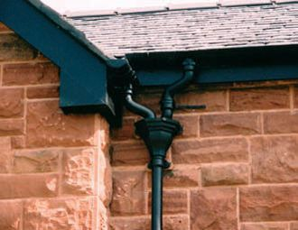 Reproduction Of 19th Century Hopper Gutters How To Install Gutters Architecture Details
