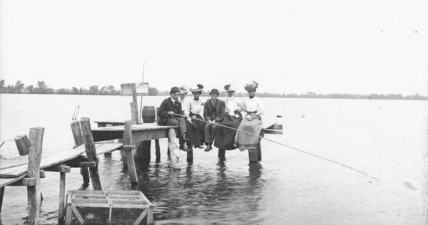 Fishing on buckeye lake at the turn of the century tbt for Buckeye lake fishing