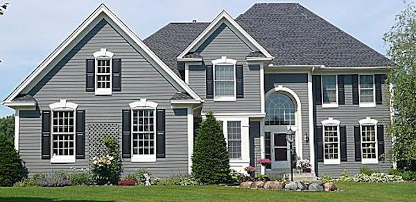 Indiana exterior house painting for cedar and aluminum for Homedepot colorsmartbybehr com paintstore