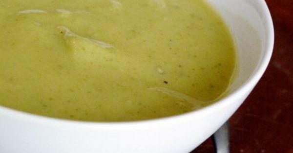 Garlic soup, Recipe zucchini and Zucchini on Pinterest