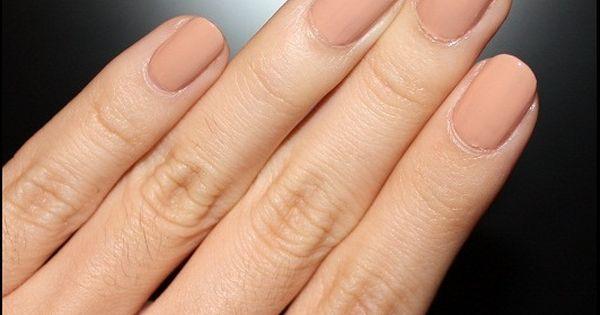 MAC Abalone Shell Nail Polish Nude nails
