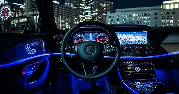 Enjoy The View The Beautiful Interior Of The Mercedes Benz E