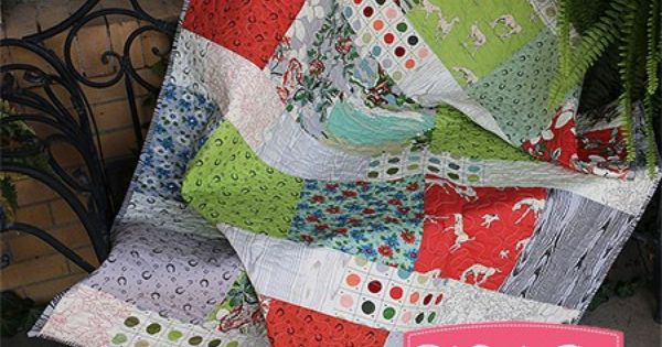 Layer Cake Lemonade Quilt Kit Featuring Purebred by Erin ...