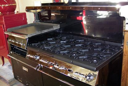 Antique Vintage Stoves 8 Burner Wolf Vintage Stoves Luxury Appliances Vintage Appliances