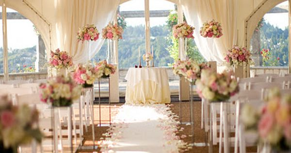 17 Best Ideas About Indoor Ceremony On Pinterest: Wedding Blush Flowers - Google Search