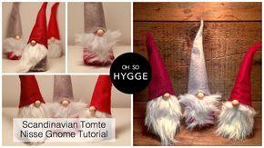 Scandinavian Tomte Nisse Christmas Gnome Diy Tutorial Gnome Tutorial Christmas Gnome Gnomes Diy