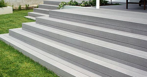 If you want to build indoor non slip stair treads or outdoor decking stairs you must understand for Composite exterior stair treads