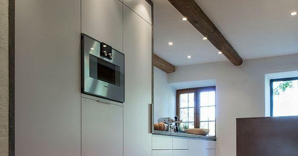 Moderne decken spot leuchten in offener küche küche pinterest