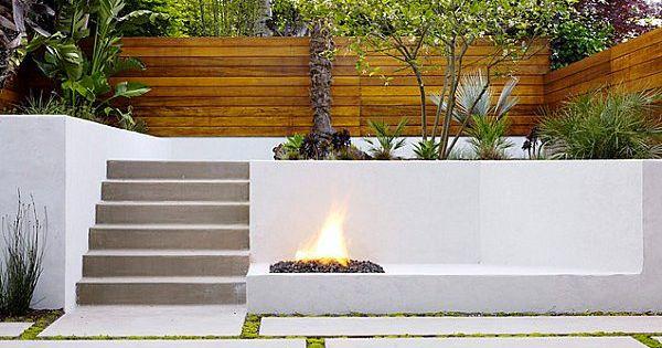Am nagement ext rieur contemporain en 28 beaux exemples cloison en bois es - Cloison exterieur terrasse ...