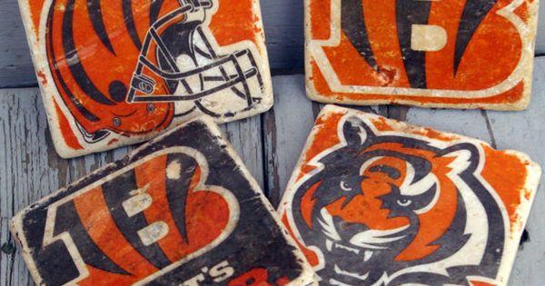 Cincinnati Bengals Drink Coaster/ Go By