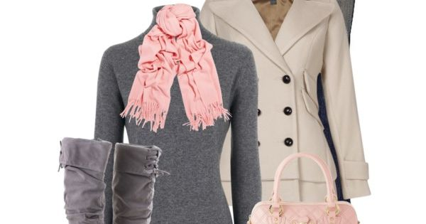love this color combo, sweater, boots and scarf!