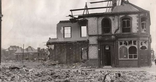 Last Orders The Partly Demolished Royal Oak On Cannon Street