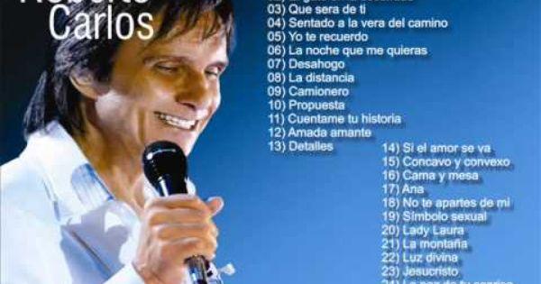 Roberto Carlos 26 Grandes Exitos Con Imagenes Roberto Carlos