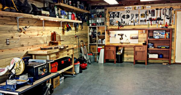 Garage Workshop Garage Storage Peg Board Power Tools