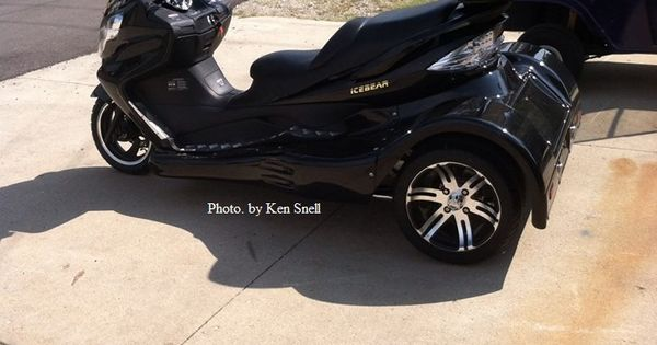 2014 ice bear by ken snell motorcycles and trikes for Snell motors used cars