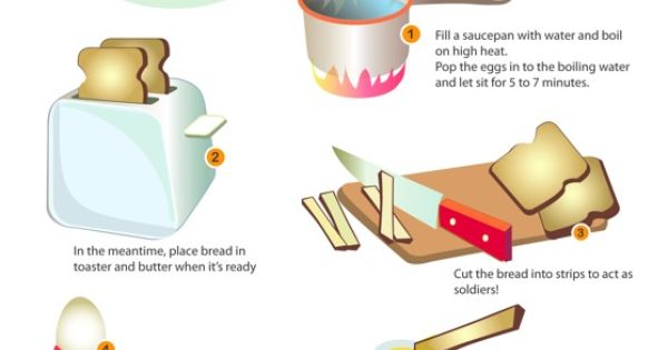 : Eggs and Soldiers   Speakaboos Worksheets #recipes #worksheets ...
