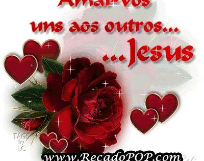 Espiritualidade Mensagem Frase Amai Vos Uns Aos Outros Jesus