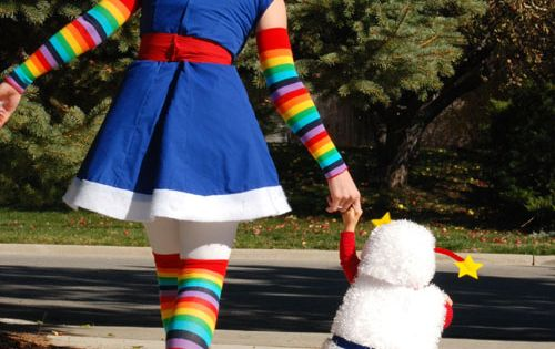 Rainbow Brite Costume tutorial thumb 50 DIY Halloween Costume Ideas