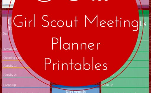 girl scout meeting planner form Forms training help leadership journeys our program 10 essential elements growing with girl scouts with progression:.