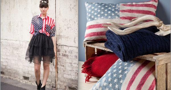planche tendance mode et d co style usa drapeau am ricain pingl par mayoparasol maillots. Black Bedroom Furniture Sets. Home Design Ideas
