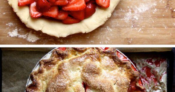 gluten-free-strawberry-ginger-pie | Gluten Free Pies | Pinterest