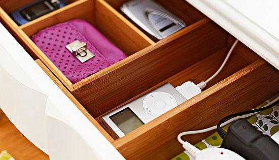 drawers power strips and drills on pinterest: organizer drawer showplace kitchen convenience accessories