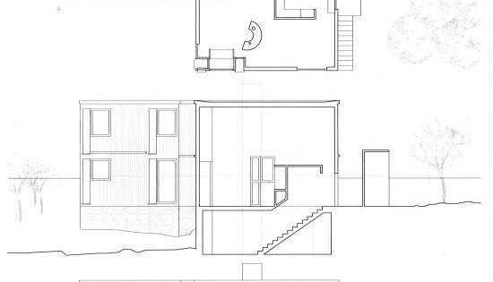 Casa fisher louis kahn planimetrias croquis pinterest - Kleur idee corridor ...