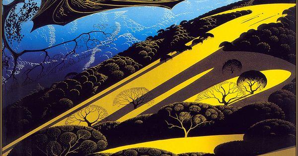 Animation News Art Robertbchew Eyvind Earle 1916 2000 Earle Eyvind Earle Eyvind Earle Art Art