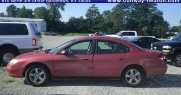 2003 Pink Ford Taurus Ses Pink Truck Pink Jeep Used Cars