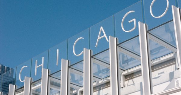 Art Institute Chicago Modern Wing Signage Design Interior Design Institute Environmental Design