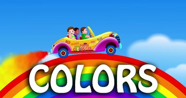 Let's Learn The Colors! - Cartoon Animation Color Songs For Children By  ChuChuTV Color Songs, Kids Songs, Kids Learning Videos