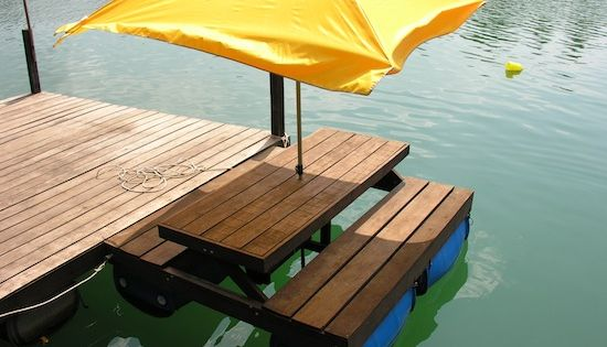 Pontoon Picnic Table Google Search Potential Projects