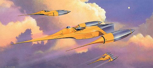 Naboo Fighter Ship Concept Art Star Wars Concept Art Original Star Wars Movie Star Wars Artwork
